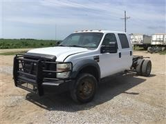 2008 Ford F550 Crew Cab 4WD Cab & Chassis