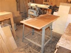 Delta 33-990 Radial Arm Saw W/Stand & Top