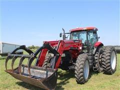 2011 Case IH Puma 180 MFWD Tractor W/L 770 Quick Attach Loader