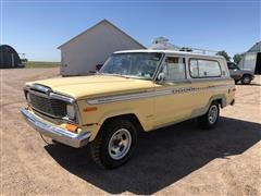 1979 Jeep Cherokee 4X4 SUV