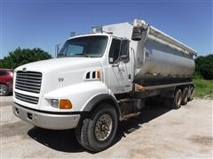 1999 Sterling LT9513 Tri/A Bulk Feed Truck W/CEI Aluminum Bed