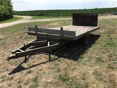 Homemade Tilt Deck Trailer