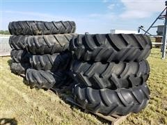 Titan 14.9-24 Pivot Tires & Rims