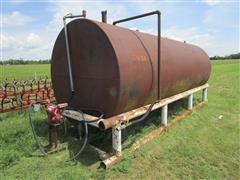 10,000-Gallon Fuel Tank W/Pump On Stand