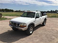 1999 Ford Ranger 4x4 Extended Cab Pickup