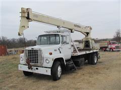 1985 Ford LN8000 Boom Truck W/National Series 600 Crane