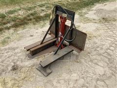 Shop Built Skid Steer Post Puller