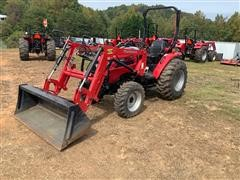 2017 Mahindra 2540 MFWD Utility Tractor W/Loader
