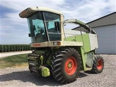 1997 Claas 860 Jaguar Self-Propelled Forage Harvester