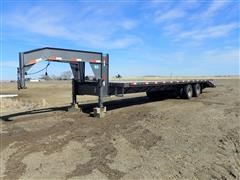 2014 Trail Rite T/A Flatbed Trailer