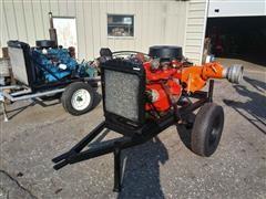 Berkeley B6ZRLCW Centrifugal Water Pump W/Chevrolet 292 Power Unit