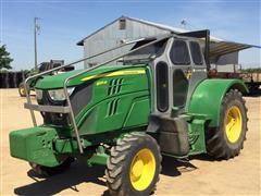 2015 John Deere 6125M Orchard Tractor