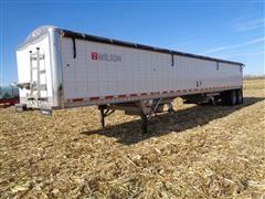 2015 Wilson DWH-500 T/A Grain Trailer