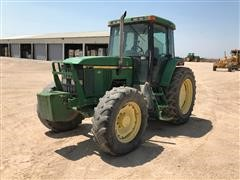 2002 John Deere 7410 MFWD Tractor
