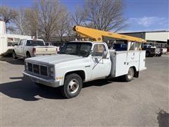 1986 GMC Sierra 3500 Bucket Truck