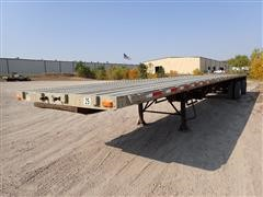 "2005 Transcraft Eagle II 48' X 102"" T/A Spread Flatbed Trailer"