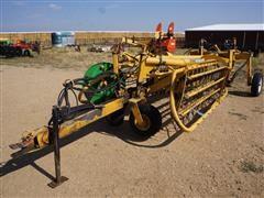 Vermeer R23 Double Windrow Hydraulic Drive Basket Rake