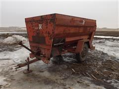 Butler Ensilmixer Feeder Mixer Wagon