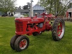 1941 McCormick Farmall H 2WD Tractor