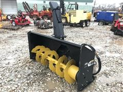 "2018 TMG Heavy Duty 68"" Snow Blower Skid Steer Attachment"