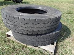 Bridgestone M843 Radial 12R24.5 Truck Tires