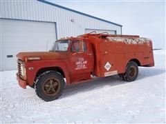1971 Ford 600 F610 1500 Gal Fuel Truck