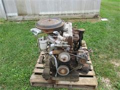 1980 Isuzu 4BD1A Engine W/Chevy Transmission