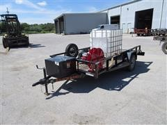 2014 Ranch King WTI Utility Trailer w/Water Pumping Unit