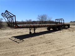 1999/1995 EAS/East Double (Hay) Flatbed Trailers W/T/A Dolly