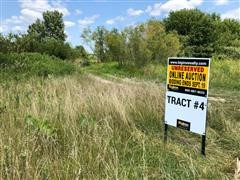 Tract 4:  249+/- Acres Clay County, Indiana