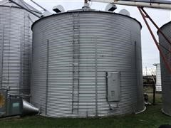 27' GSI Grain Bin W/Shivvers Drying System