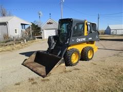 2014 John Deere 318E 2-Speed Skid Steer