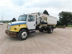 1998 Freightliner FL70 S/A Feed/Mixer Truck
