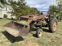 1955 John Deere 70 2WD Tractor W/Loader
