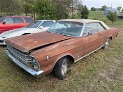 1966 Ford Galaxie 500 2 Door Car