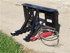 2019 Industrias America Post/Tree Puller Skid Steer Attachment