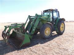 2005 John Deere 7520 MFWD Tractor W/Loader