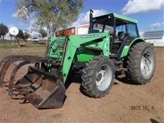 1991 Deutz-Allis 7085 MFWD Tractor w/ Loader and Grapple