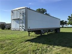 1991 Wilson DWCH-100 T/A Convertible Floor/Hopper Trailer