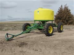 John Deere Skiles RT 1300 Row-Tracker Fertilizer Trailer