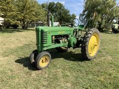 1946 John Deere B Row Crop 2WD Tractor