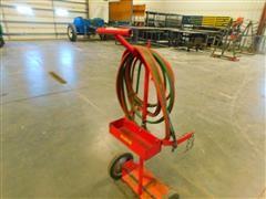 Two Wheel Acetylene Cart