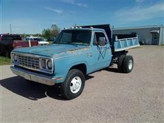 1978 Dodge D250 Dump Truck