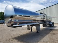 2009 Walker Insulated Stainless Steel T/A Tanker Trailer