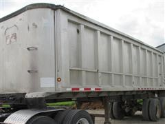 1989 Travis End Dump Trailer