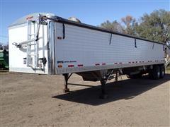 2014 Timpte 4066 T/A Grain Trailer W/Ag Hoppers