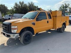2008 Ford F350 XL Super Duty 4WD Service Truck