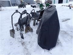 John Deere 4720 Wheel Shields