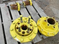 John Deere 7410 Tractor Dual Hubs