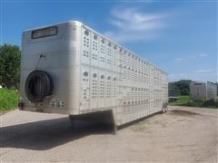 "1999 Wilson PSDCL-302 50'x102"" T/A Livestock Trailer"